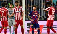 اليوم ..المواجهة بين برشلونة ونظيره أتلتيكو مدريد