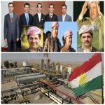 إيرادات نفط الإقليم لعائلة بارزاني وحكومة أبنها مسرور لن تسلم بغداد برميلاً واحداً لأنه مباع لمدة 50 عاماً