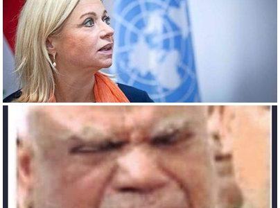 """العامري:بلاسخارت """"الشيطان الكبير"""" في العراق"""