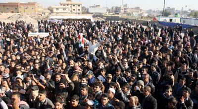 الكوردستاني: التظاهرات تهدد العملية السياسية