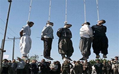 الاعدام لخمسة أشخاص بعد ادانتهم بتهريب المخدرات في كرمان جنوب شرق ايران