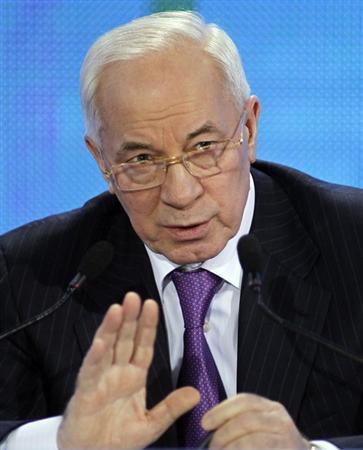 رئيس وزراء اوكرانيا يسعى لتهدئة مخاوف روسيا بشأن اتفاقات تجارية