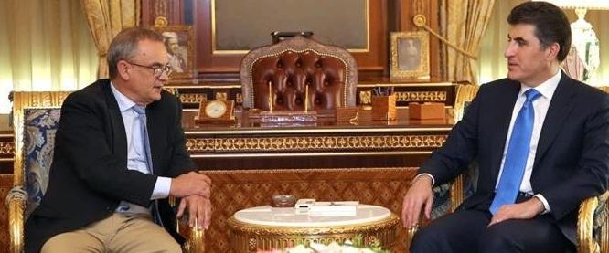 نيجيرفان وستيمان يبحثان تشكيل الحكومة القادمة