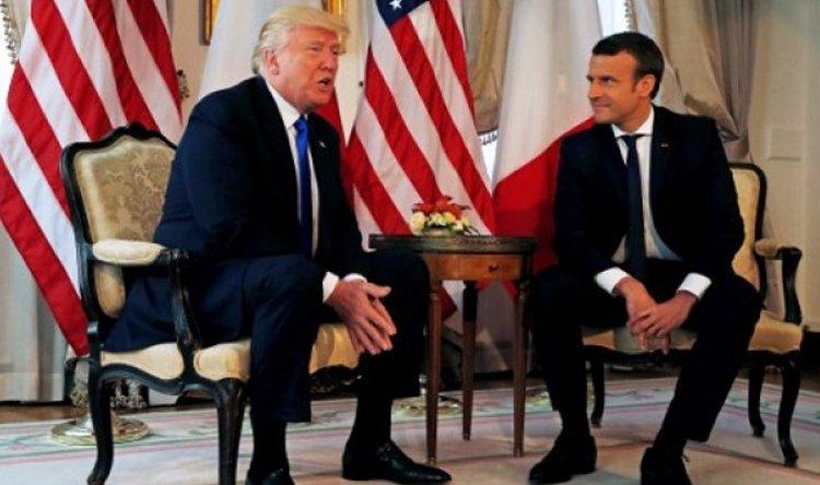 ماكرون لترامب:فرنسا حليفة لأميركا لا تابعة لها