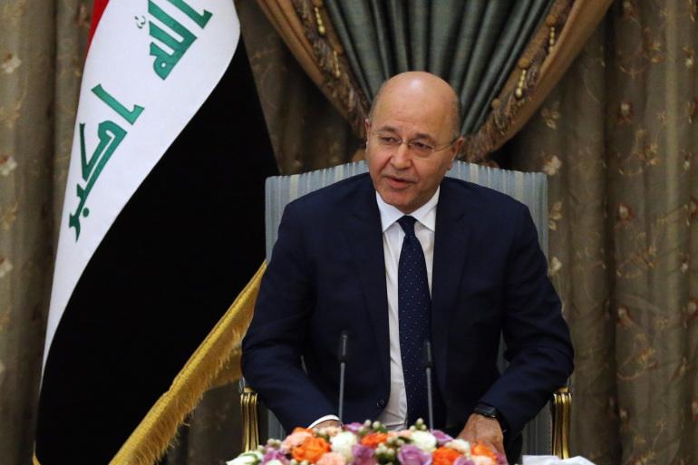 """بعد دوس صور رئيس الوزراء بأحذية الحشد ..صالح يؤكد على """" أحترام السيادة""""!"""