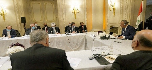 الكاظمي : العراق يبحث عن إيجاد شراكة اقتصادية راسخة مع فرنسا