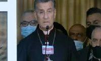 البطريرك بطرس يناشد المجتمع الدولي لإنقاذ لبنان من سلطته الفاسدة