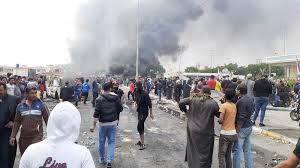 متظاهرو الناصرية يرفضون اشراك القوى السياسية في اختيار محافظا لذي قار