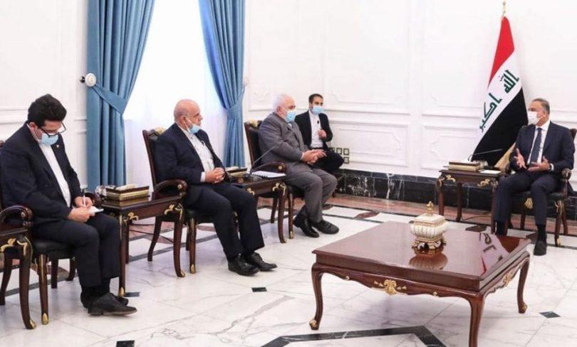 """الكاظمي لظريف:العراق وإيران """"جسدان في روح واحدة""""!"""