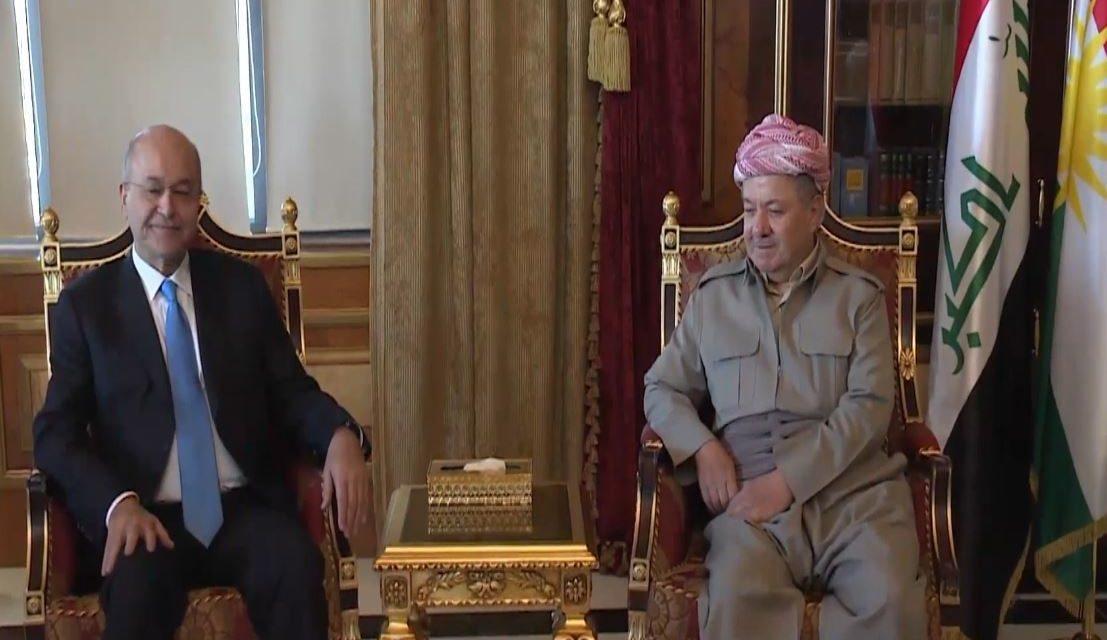 اليوم ..صالح في أربيل لتوحيد الخطاب السياسي الكردي والانتخابات