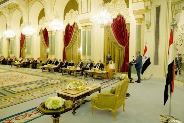 """الكاظمي:هناك محاولات من """"البعض""""لضرب العلاقات العراقية السعودية"""