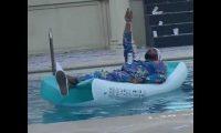 دعوى قضائية ضد الفنان محمد رمضان بسبب نثر الدولارات في حمام السباحة