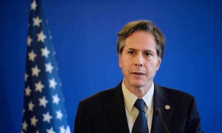 """بلينكن: نأمل """"التقدم"""" في علاقتنا مع العراق"""