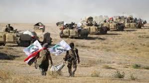 عملية تطهير عسكرية للحشد الشعبي لمناطق جنوب الموصل