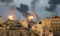 طائرات الاحتلال  الإسرائيلي تشن أعنف الغارات على غزة