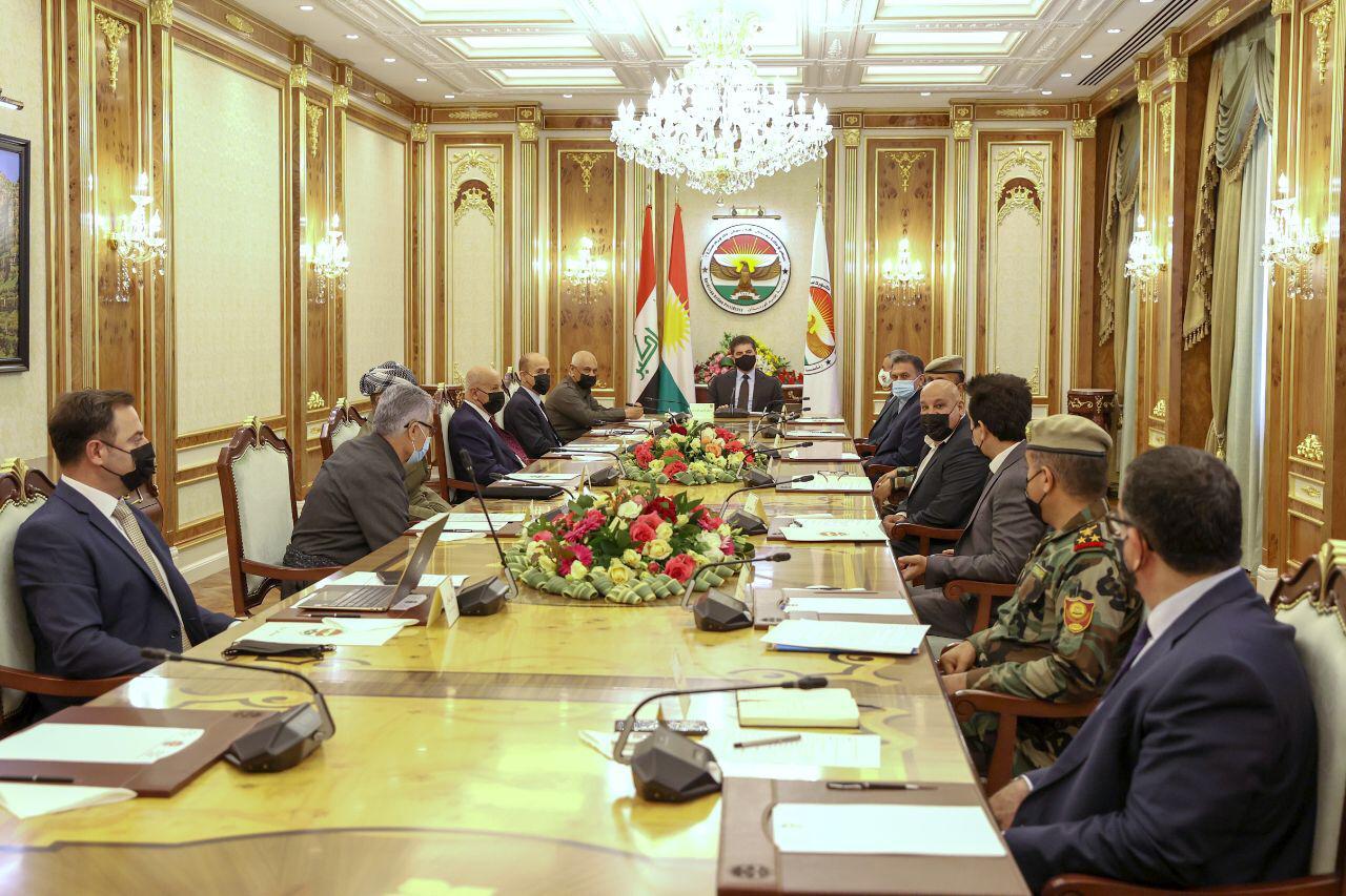 نيجيرفان:إصلاح وزارة البيشمركة من الأسبقيات الأولى