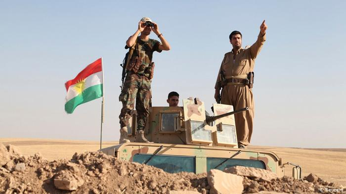 مصدر عسكري:وصول البيشمركة للمناطق المحاذية في ديالى والموصل وكركوك