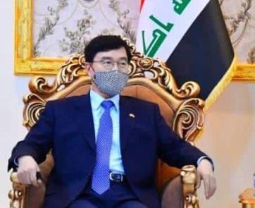 السفير الكوري الجنوبي:مشروع ميناء الفاو الكبير سيحقق نجاحاً هائلاً في دعم الاقتصاد العراقي