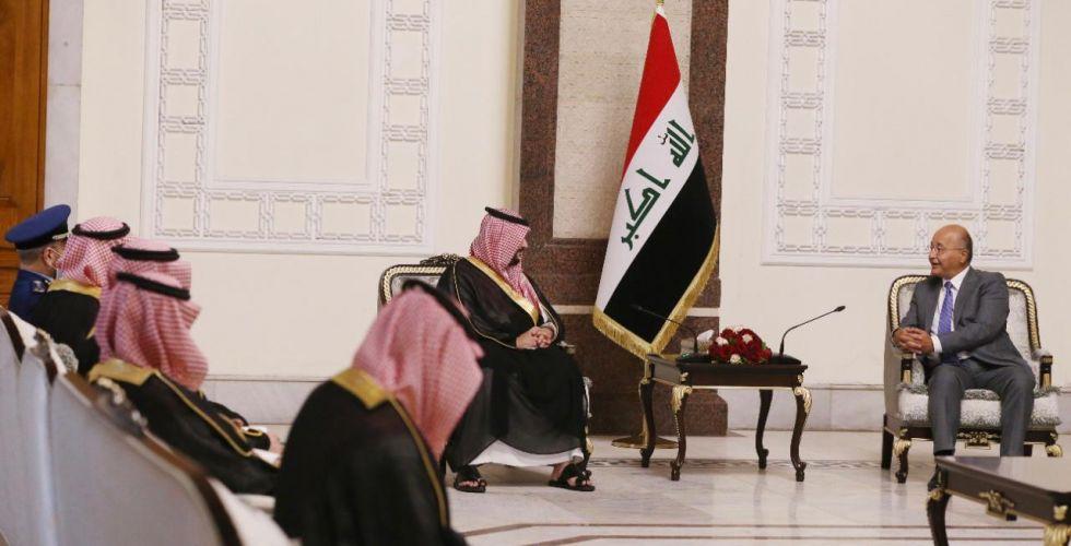 العراق والسعوية يؤكدان على تعزيز التعاون بين البلدين في كافة المجالات