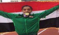العراق يحصد 13 مدالية في البطولة العربية لألعاب القوى
