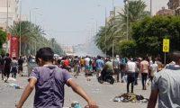 اشتباكات عنيفة بين محتجين غاضبين والشرطة التونسية