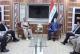 الغانمي ووفد أمني كردي يبحثان التعاون الأمني في شمال العراق