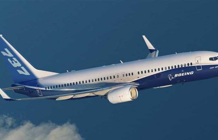 """النسخة الجديدة من طائرات بوينغ """"737 ماكس"""" في رحلة تجريبية"""