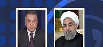 روحاني للكاظمي: أمن العراق من أمن إيران وبلاده خراب البلاد والعباد