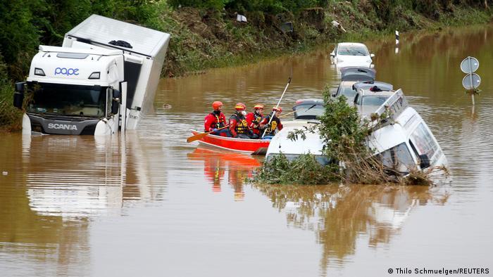 183 قتيلا جراء الفيضانات في المانيا