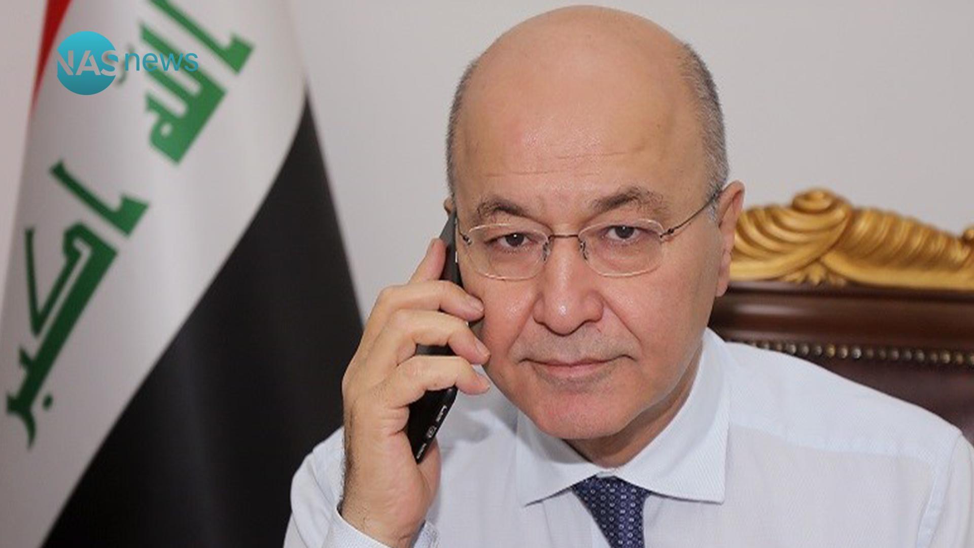 صحيفة واشنطن بوست:هاتف الرئيس برهم صالح تحت المراقبة الإسرائيلية
