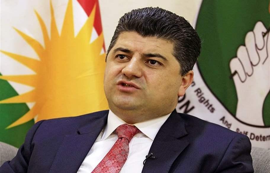لاهور ينسحب من رئاسة تحالف كردستان