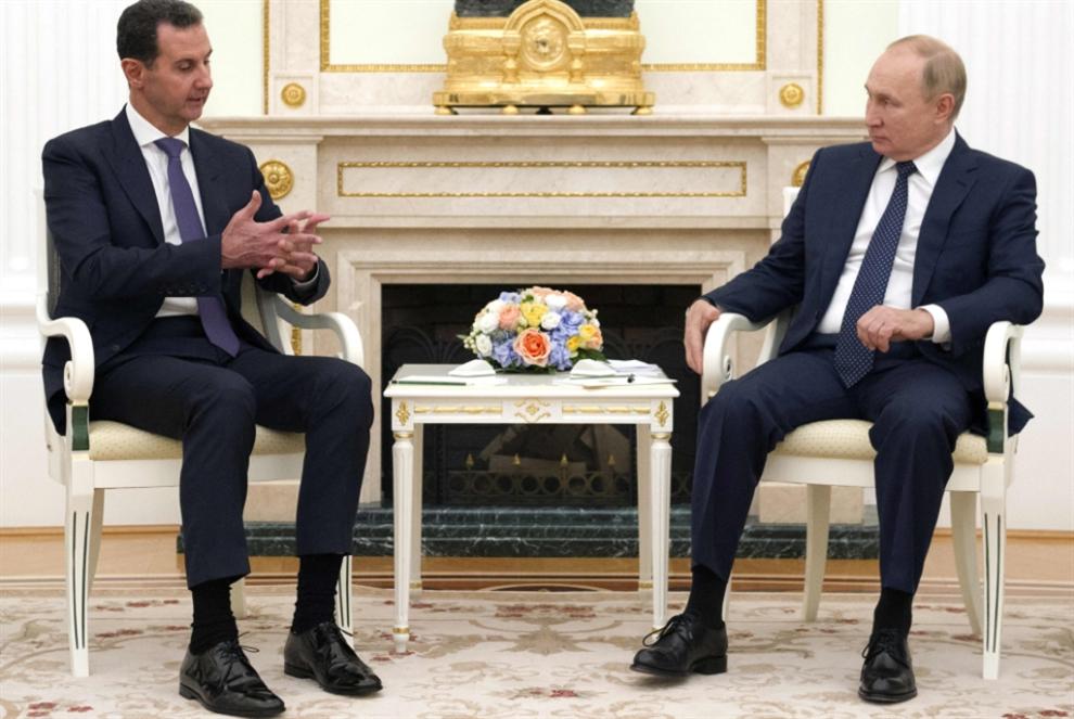 بوتين للأسد: مشكلة سوريا تكمن في التواجد العسكري الأجنبي غير الشرعي