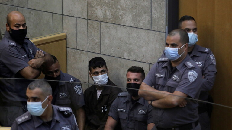 الشرطة الإسرائيلية تعد لائحة اتهام بحق الأسرى الأربعة الذين تمت إعادة اعتقالهم