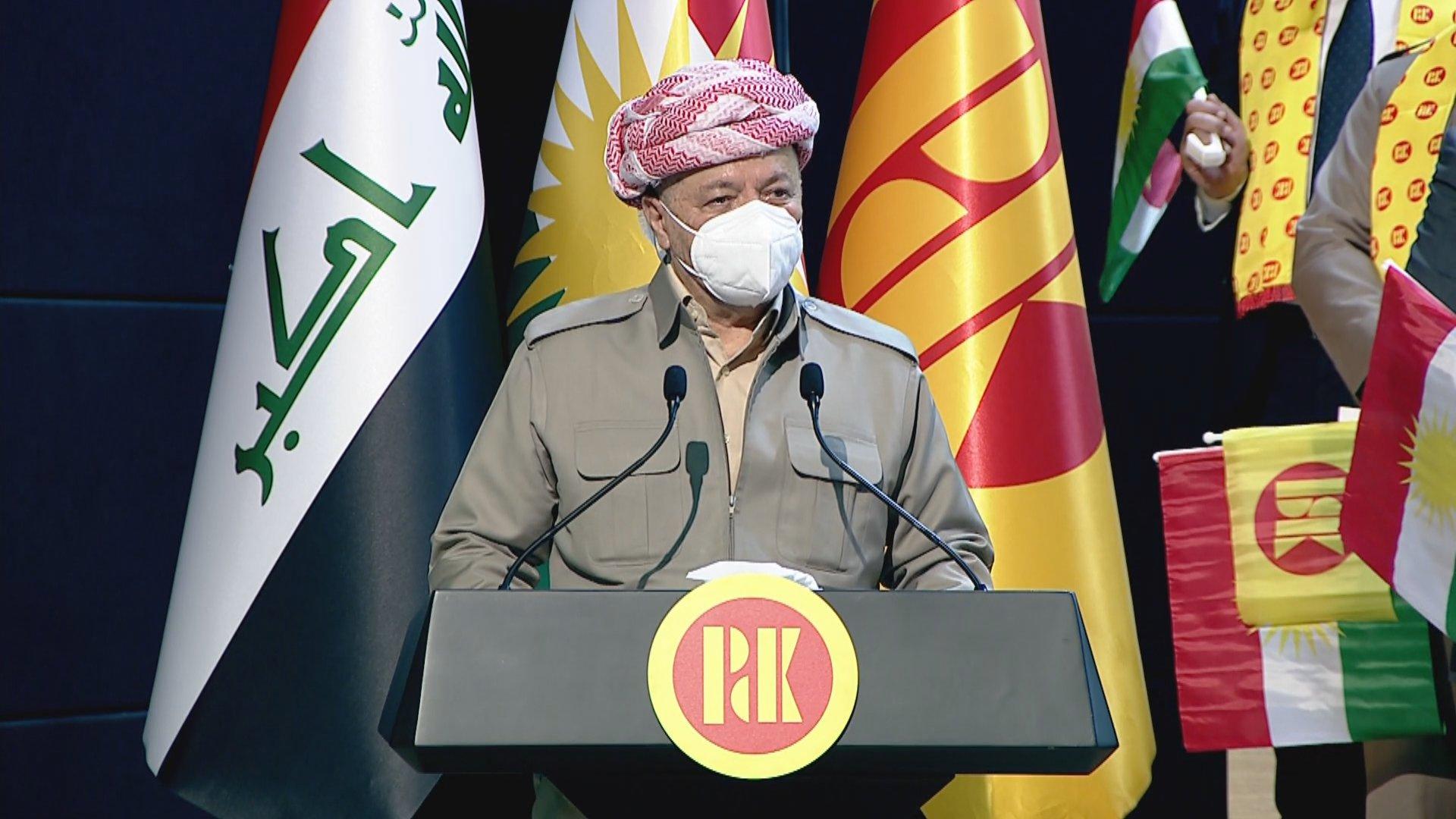 """البارزاني:في العراق لاتوجد """"شراكة""""!"""