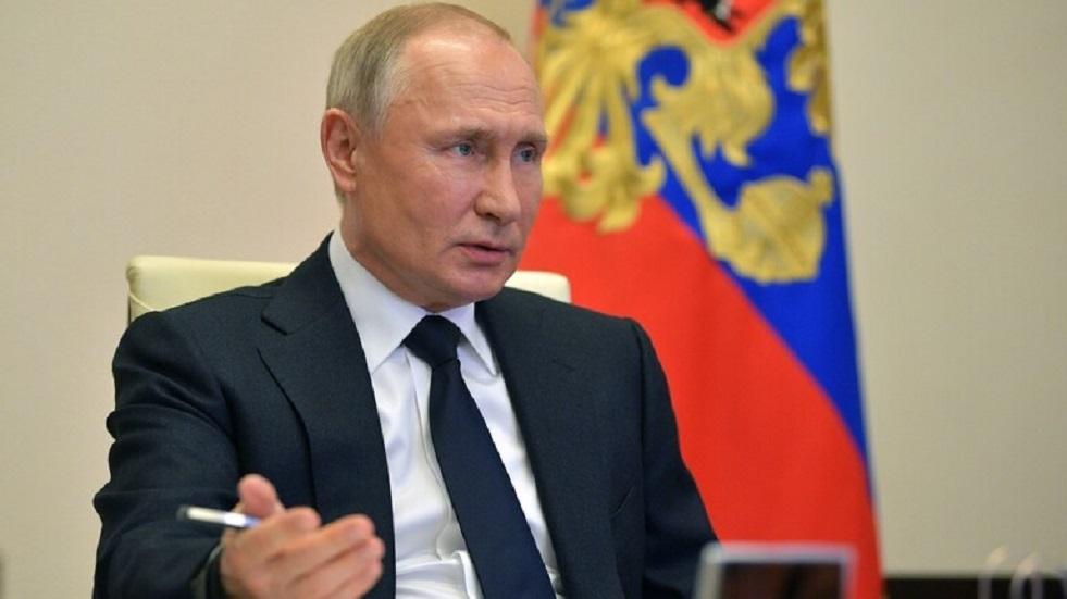 بوتين:الدستور يسمح لي أن أترشح لولاية جديدة